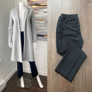 EXPRESS Black Ankle Editor Pants